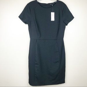Banana republic women's 8 petite black mini dress